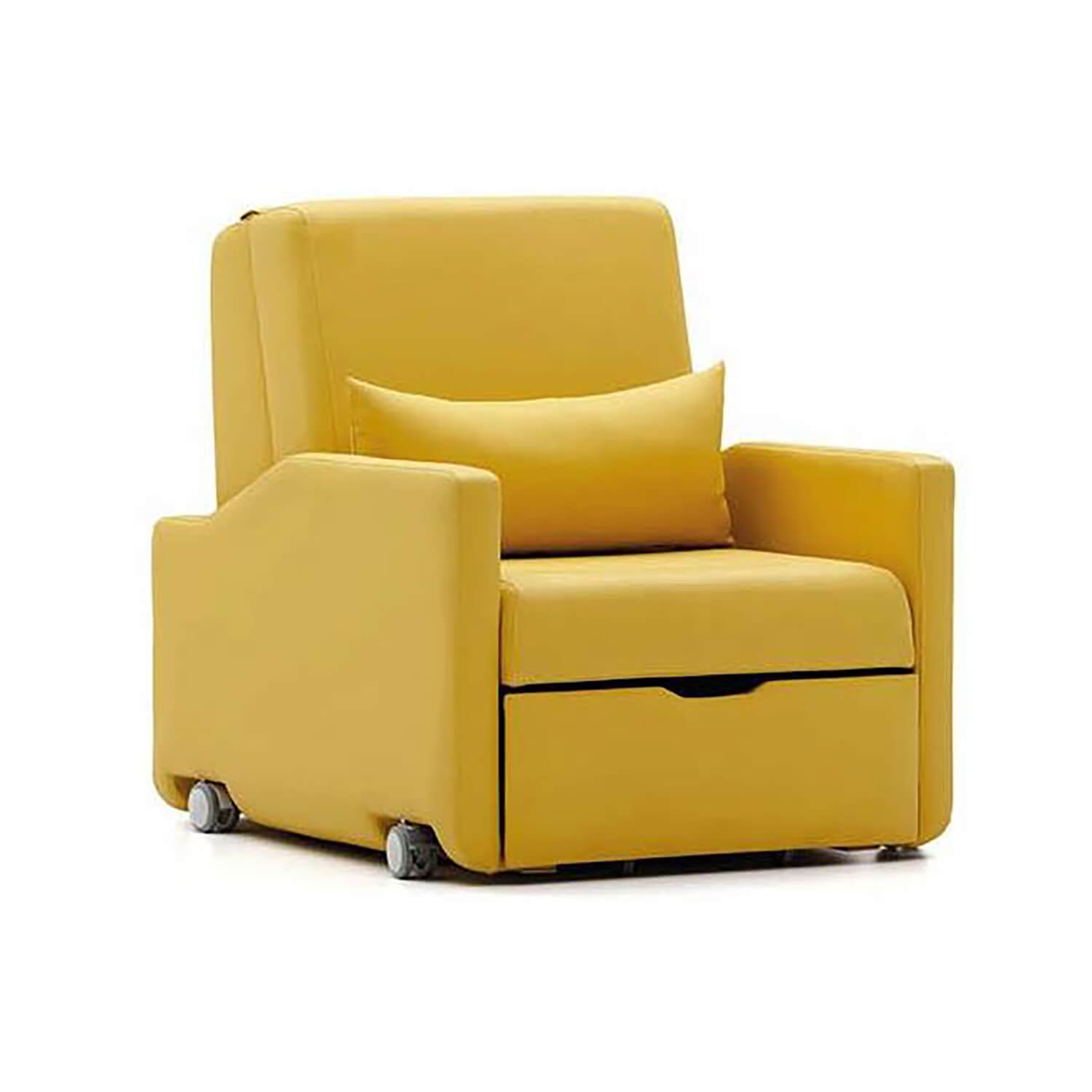 Attendant Sofa Bed with Castors