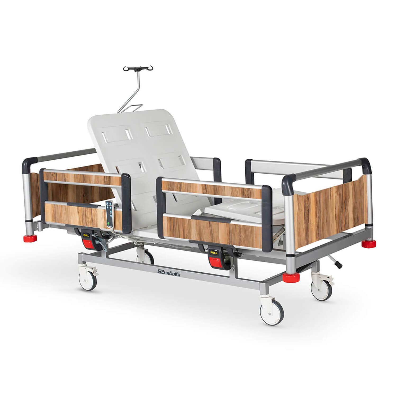 Hospital Electric Bed 2 Motors, Aluminum Base