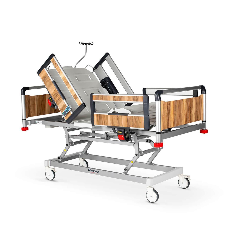 Hospital Electric Bed 3 Motors, Aluminum Base