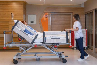 Hospital Electric Bed 4 Motors, Aluminum Base