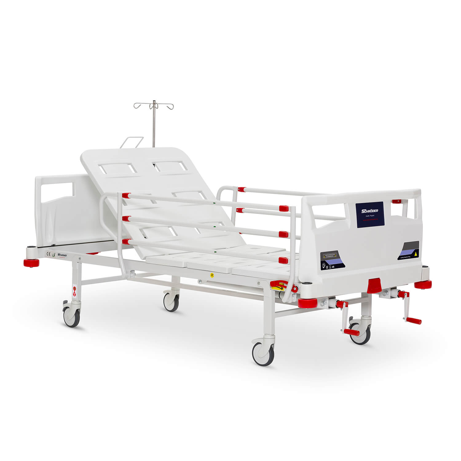 Parallel Mechanical Operated Hospital Bed, 2 Cranks