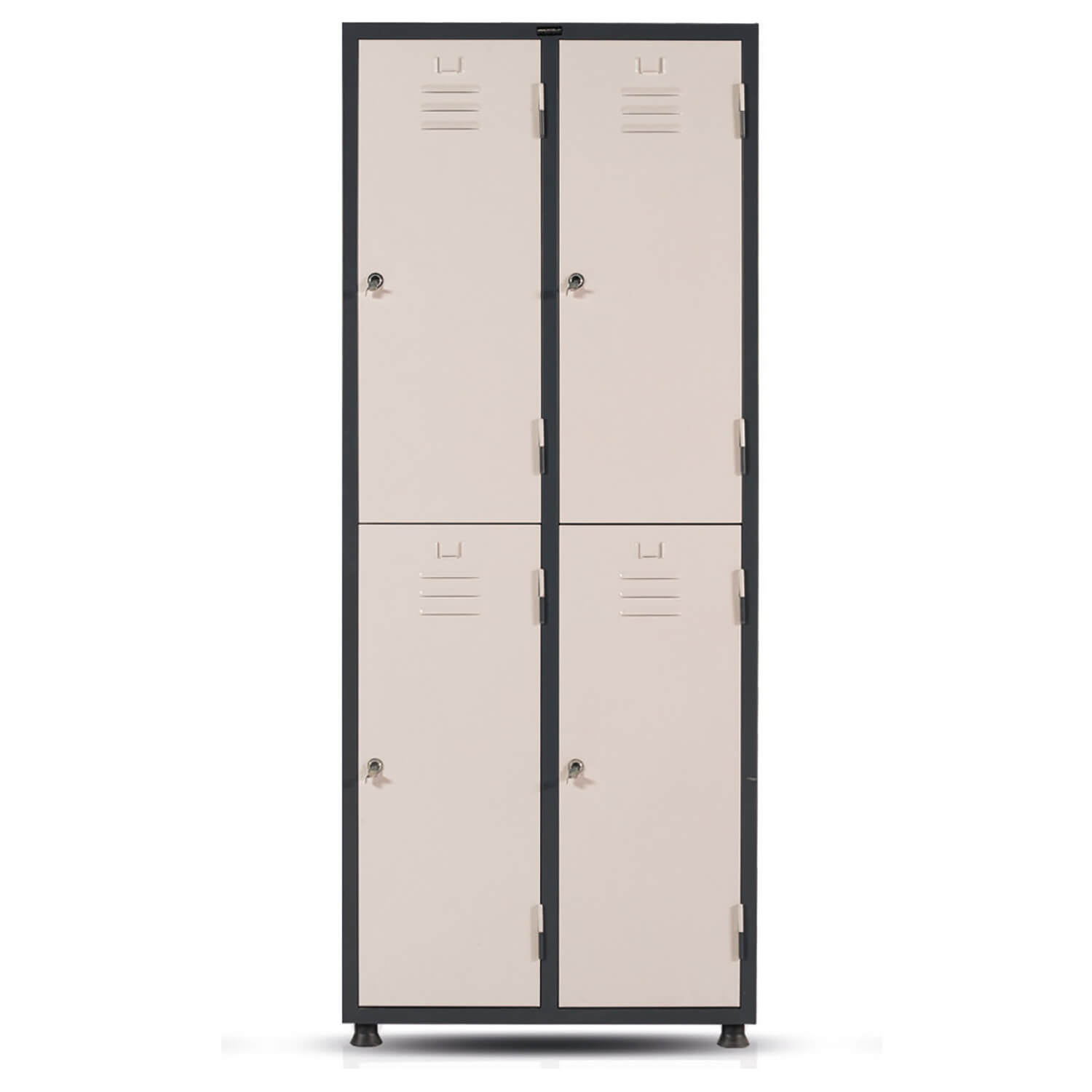 Steel Patient Locker, Quadruble