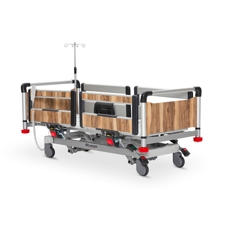 Pediatric Hospital Bed, 3 Motorised Aluminum Base