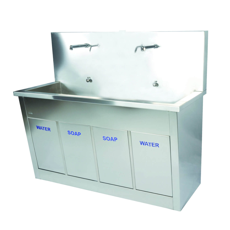 Double Bay Scrub Sink