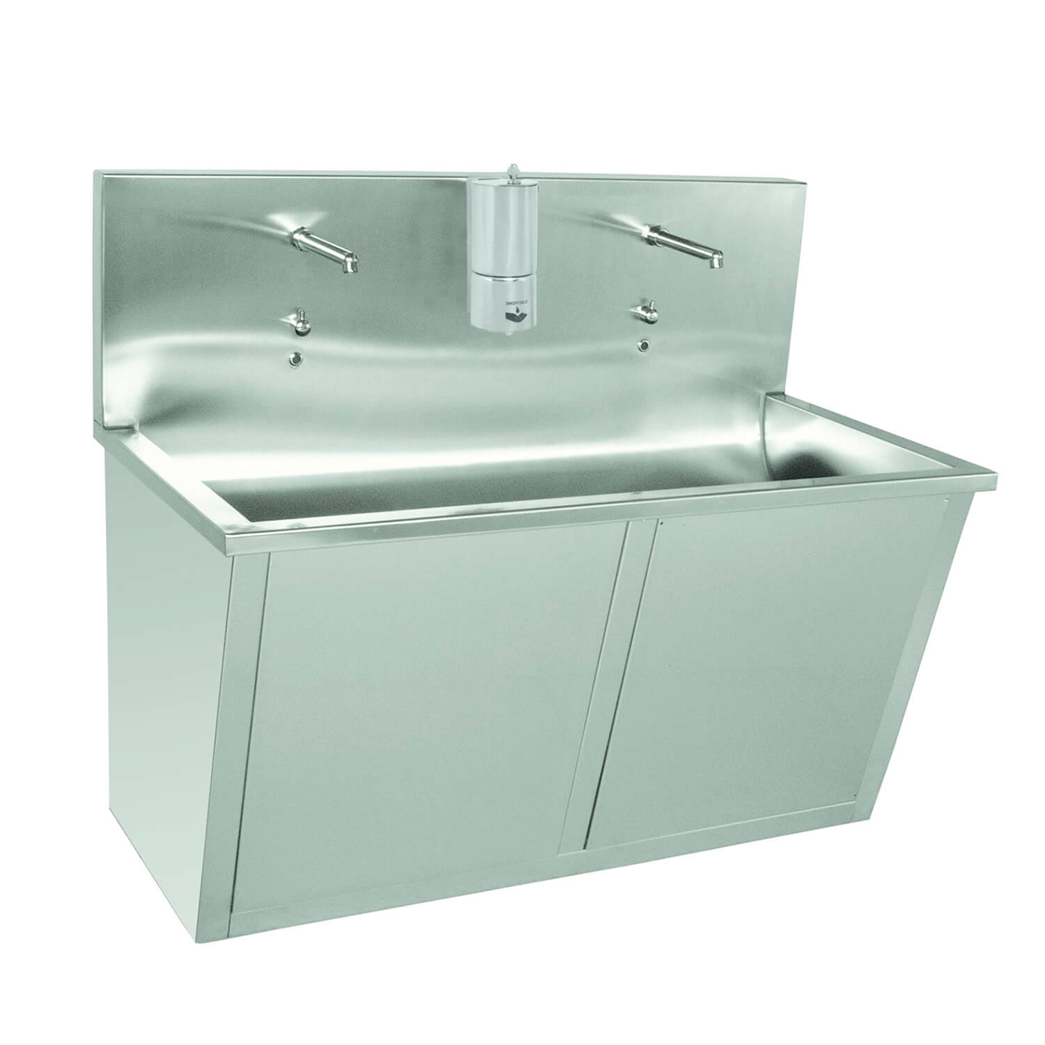 Double Bay Scrub Sink